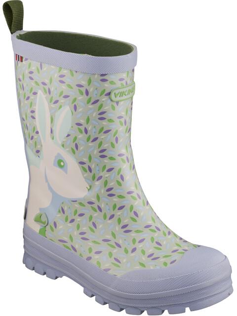 Viking Footwear Big Rabbit - Botas de agua Niños - violeta